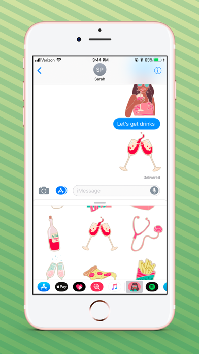 The Mindy Project Stickers app image