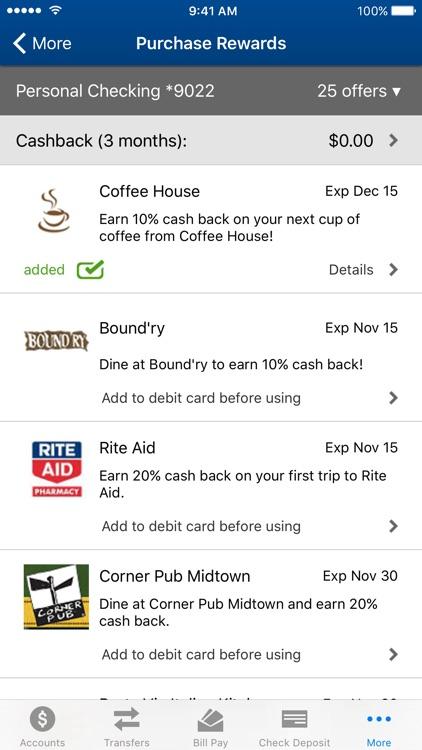 OceanFirst Bank - Mobile Banking screenshot-4