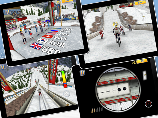 Athletics 2: Winter Sports screenshot 7