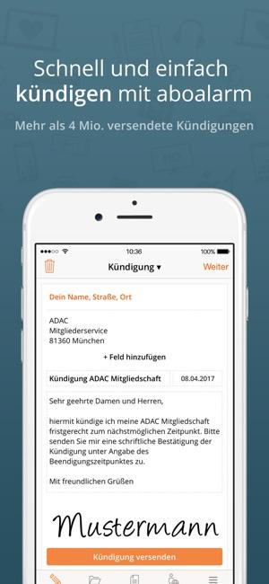 Aboalarm Verträge Kündigen Im App Store