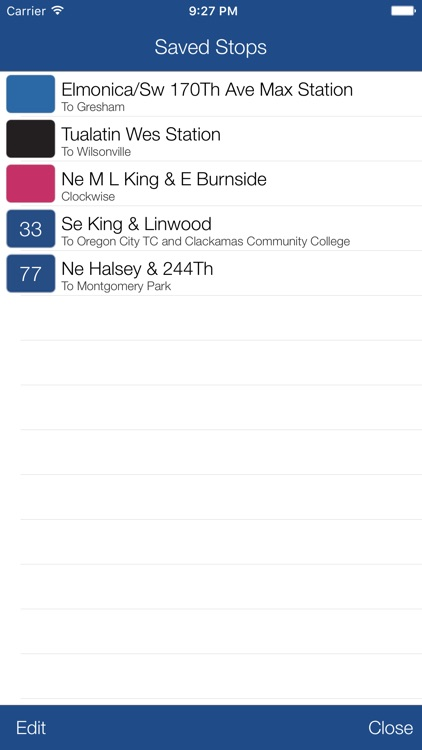 Transit Stop: Portland TriMet screenshot-3