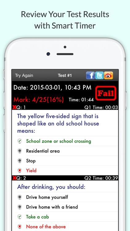 DMV Hub - Permit Practice Test screenshot-4
