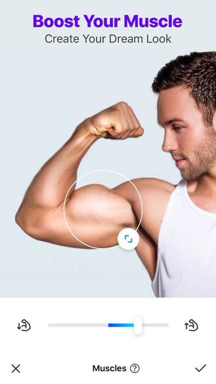 Manly - Body Muscle Editor Pro