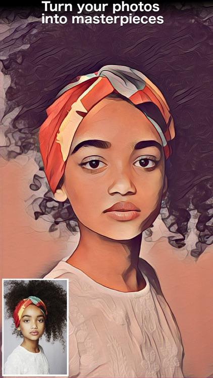 Painnt - Art & Cartoon Filters screenshot-0