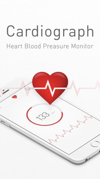 Cardiograph Heart Rate Monitor screenshot-0