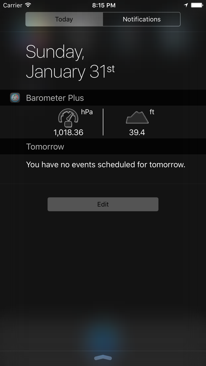 Barometer Plus - Altimeter Screenshot