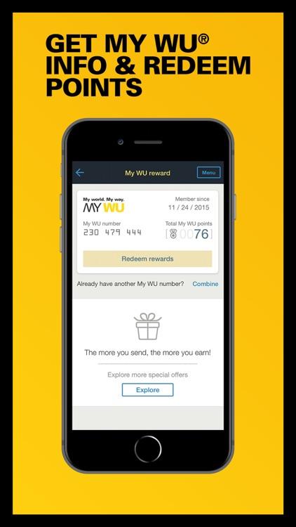 WesternUnion US Money Transfer screenshot-7