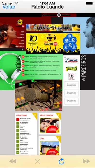 Rádio Luandê screenshot one