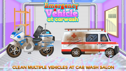 Emergency Vehicles at Car Wash screenshot one