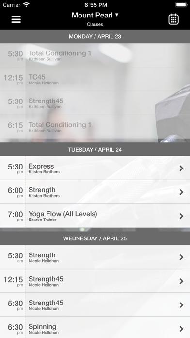 MAX Arts.Athletics.Wellness. screenshot three
