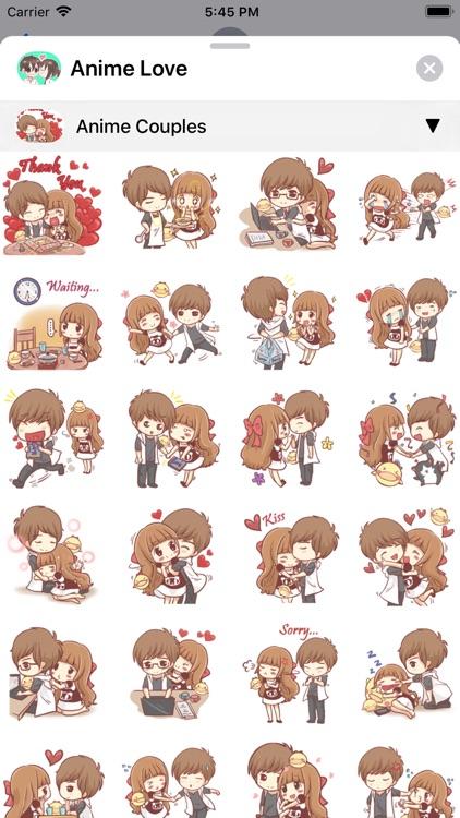 Anime Love Sticker screenshot-3