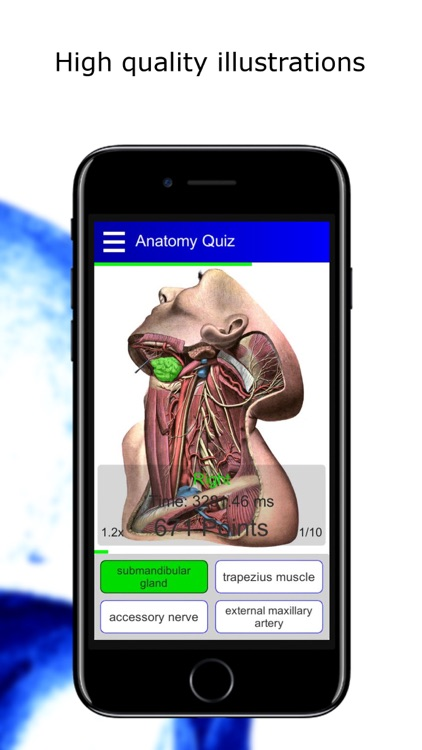 Anatomy Quiz lite screenshot-4