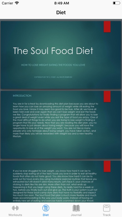 Soul Food Diet screenshot three
