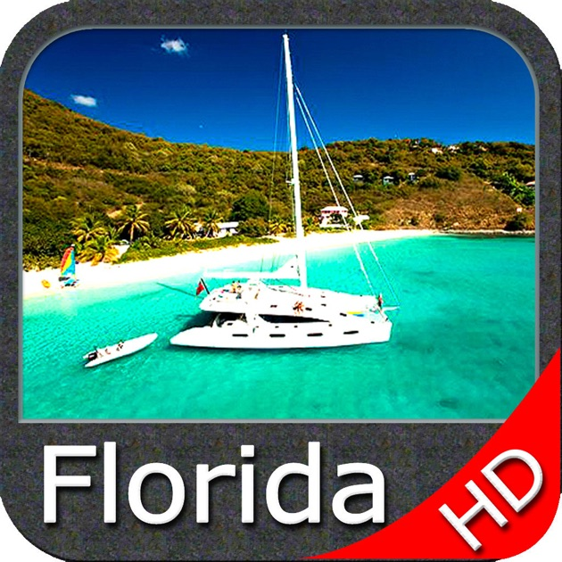 Florida nautical charts gps hd on the app store for Florida fishing app