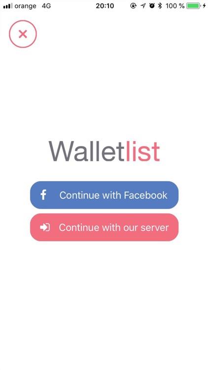 Walletlist