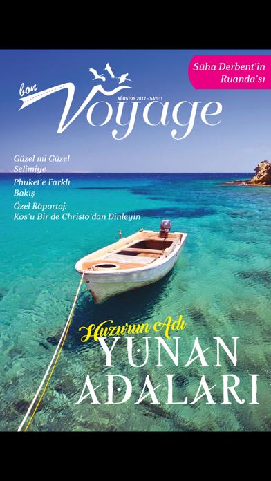 BON VOYAGE Magazine screenshot 3