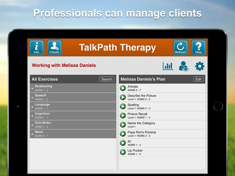 Lingraphica TalkPath Therapy screenshot-1