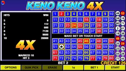 Keno Keno 4X free Credits hack
