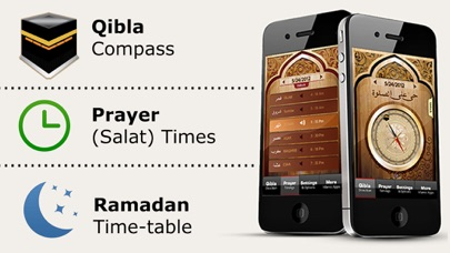 Islamic Qibla - Prayer Times screenshot 1