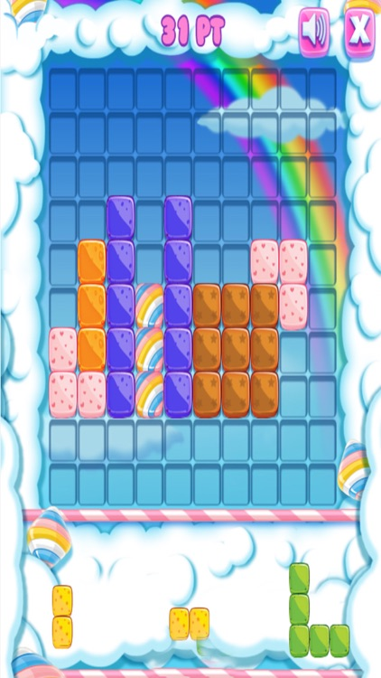 Blocks Arrange Strategy Puzzle Game