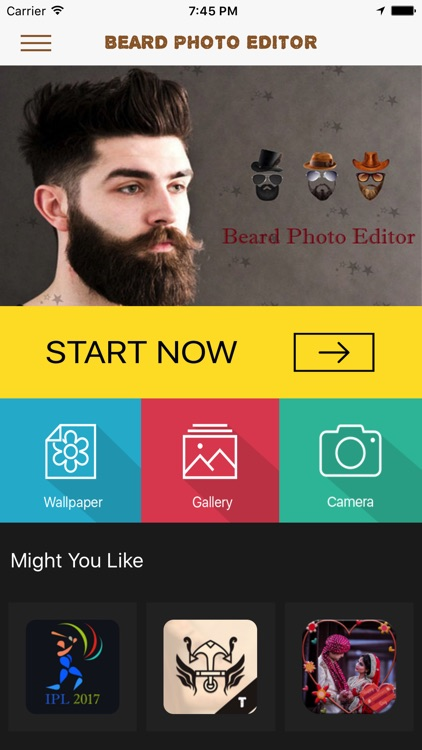 Beard Booth Photo Editor screenshot-0