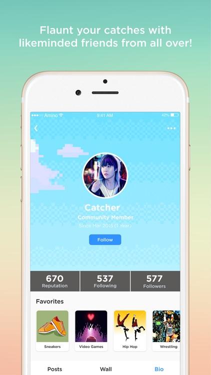 Go Amino for Pokémon Go Chat screenshot-3