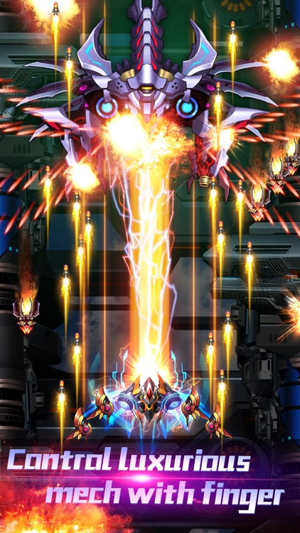 Thunder Assault: Galaga Attack screenshot-3