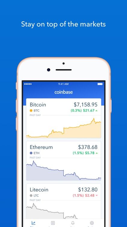 Coinbase – Buy & sell bitcoin