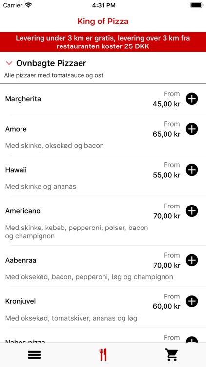 King of Pizza, Aabenraa