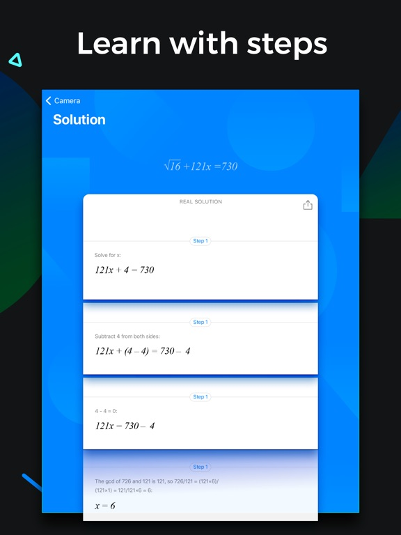 SnapCalc - Math Problem Solver screenshot 7