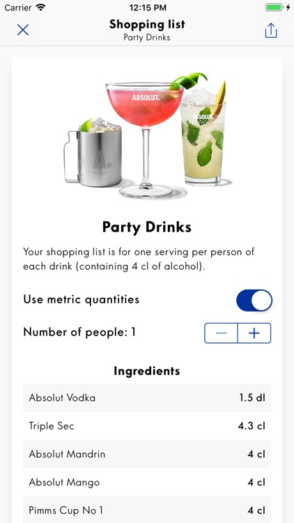 Drinkspiration - Drink Recipes screenshot-3