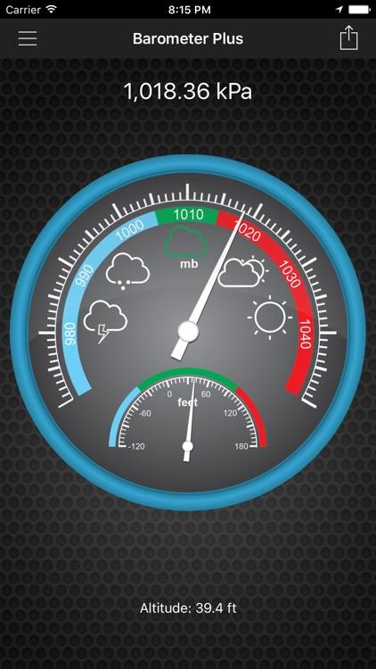 Barometer Plus - Altimeter