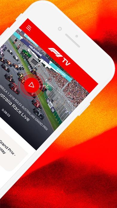 Screenshot for F1 TV in Chile App Store