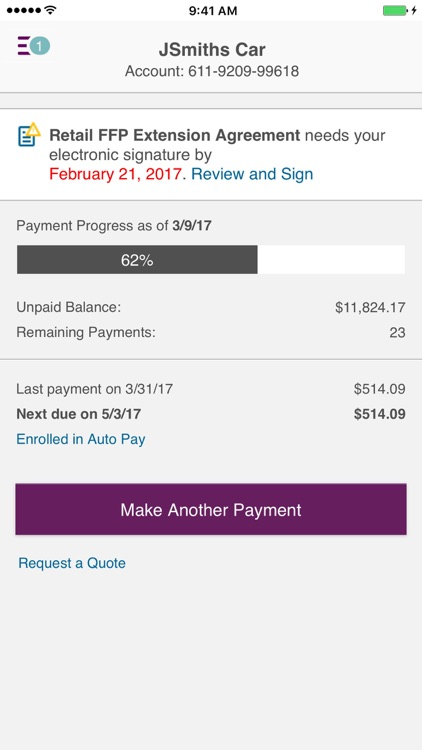 Ally Auto Mobile Pay screenshot-1