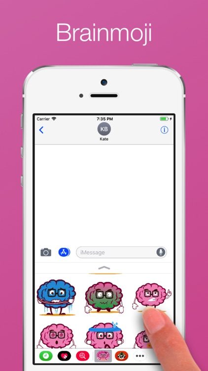 Brain emoji Stickers screenshot-3