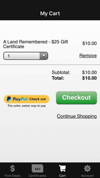 Restaurant.com screenshot-3