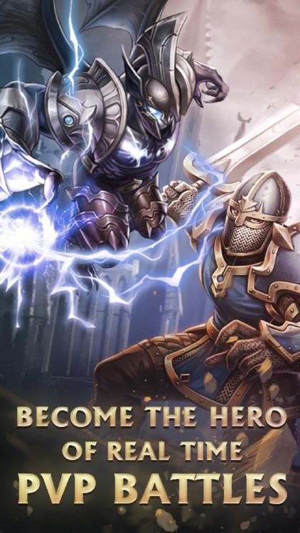 Heroes of Eternity - battle screenshot-3