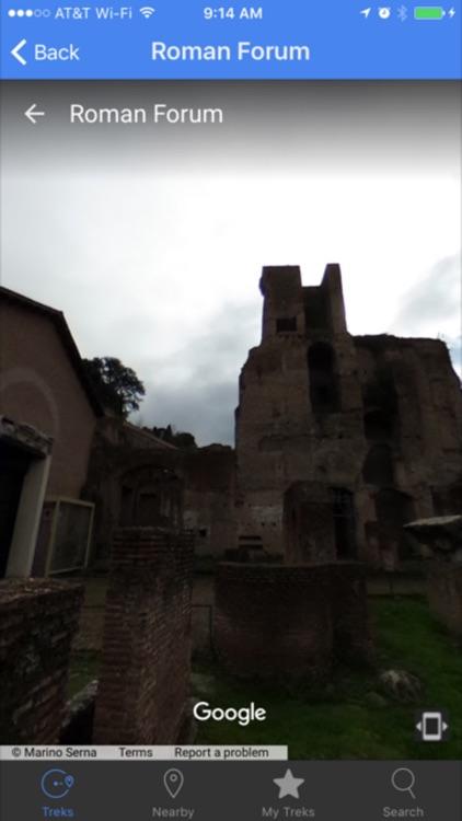 VR TreksInTheCity: Rome screenshot-8