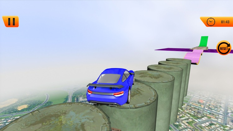 Extreme Car Stunts Driving screenshot-4