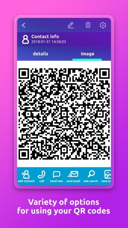QR Code Scanner 'n' Generator screenshot-3