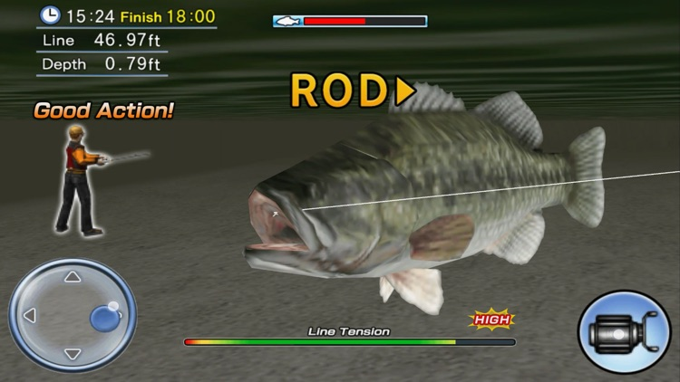 Bass Fishing 3D Premium screenshot-3