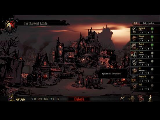 Screenshot #3 for Darkest Dungeon:Tablet Edition