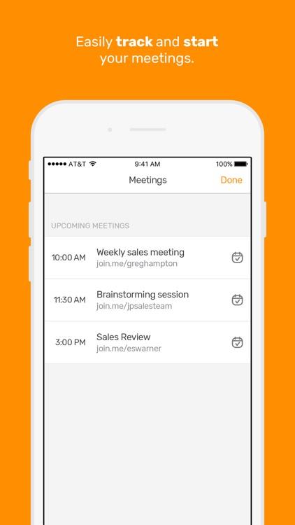join.me - Simple Meetings screenshot-4