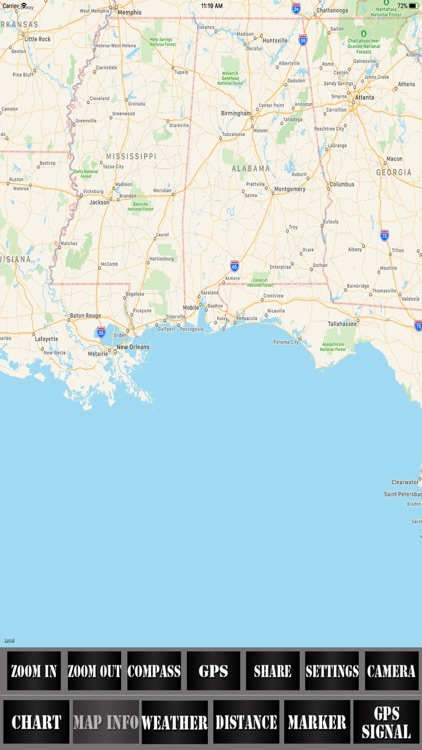 Alabama USA Nautical Charts