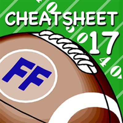 Fantasy Football Cheatsheet & Draft Kit 2017 Applications
