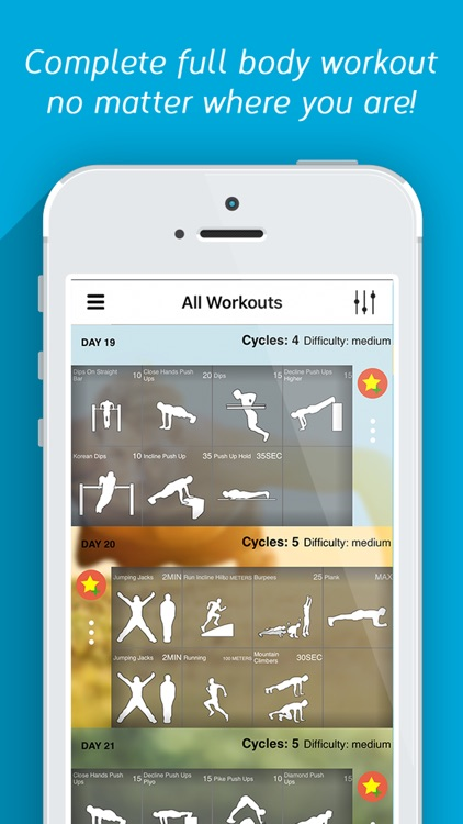 Calisthenics Challenge Trainer - Fitness Workout screenshot-0