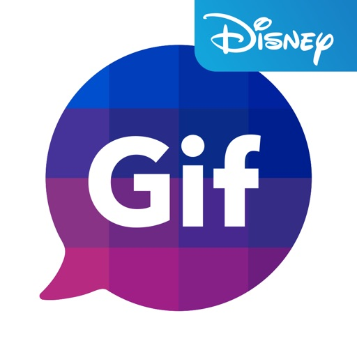 Disney Gif + Keyboard icon