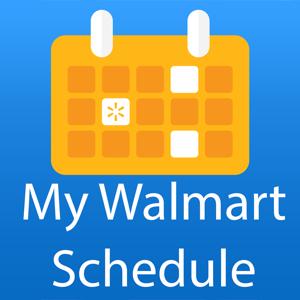 My Walmart Schedule Productivity app