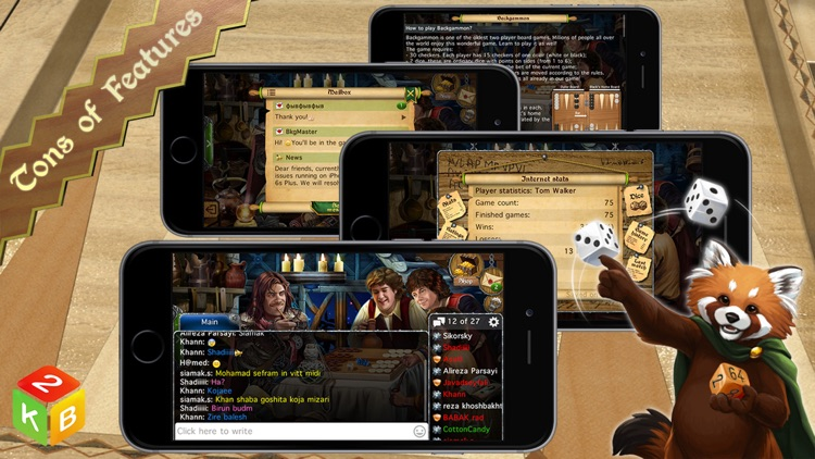 Backgammon Masters Online screenshot-4