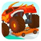 大脚车总动员 - 汽车和赛车儿童游戏 icon